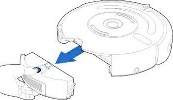 Чистка робота пылесоса Roomba
