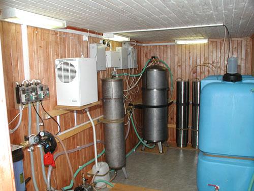 Коттеджные системы очистки воды