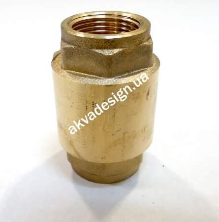 """Обратный клапан Bonomi EUROPA ¾"""" с латунным штоком ВВ PN25 (10000006) - 3"""