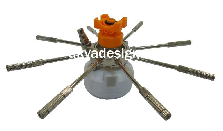 Комплект форсунок под зонтик с лампой - 1