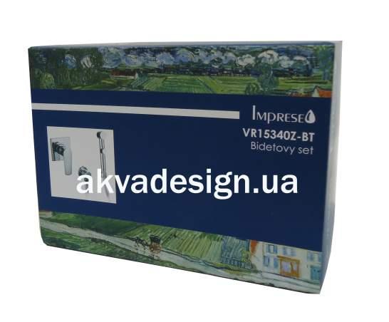 Набор (смеситель скрытого монтажа с гигиеническим душем, шланг полимер) Imprese VYSKOV - 1