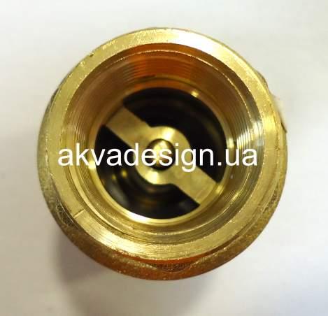 """Обратный клапан Bonomi EUROPA ¾"""" с латунным штоком ВВ PN25 (10000006) - 1"""