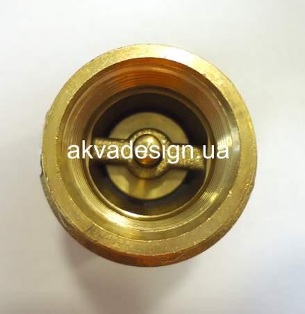 """Обратный клапан Bonomi EUROPA ¾"""" с латунным штоком ВВ PN25 (10000006) - 2"""